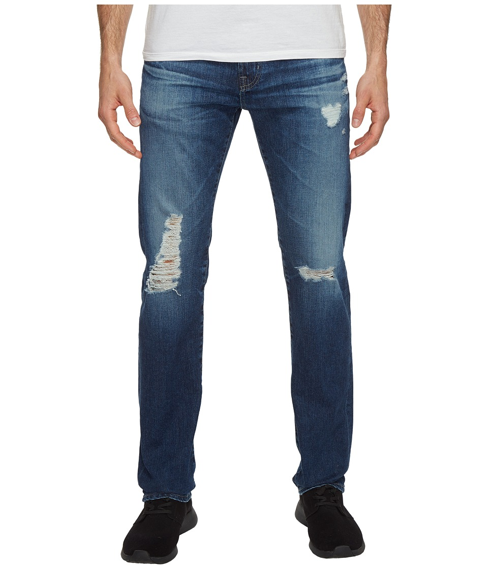 AG Adriano Goldschmied - Matchbox Slim Straight Leg Denim in 14 Years Angelo (14 Years Copy) Men's Jeans