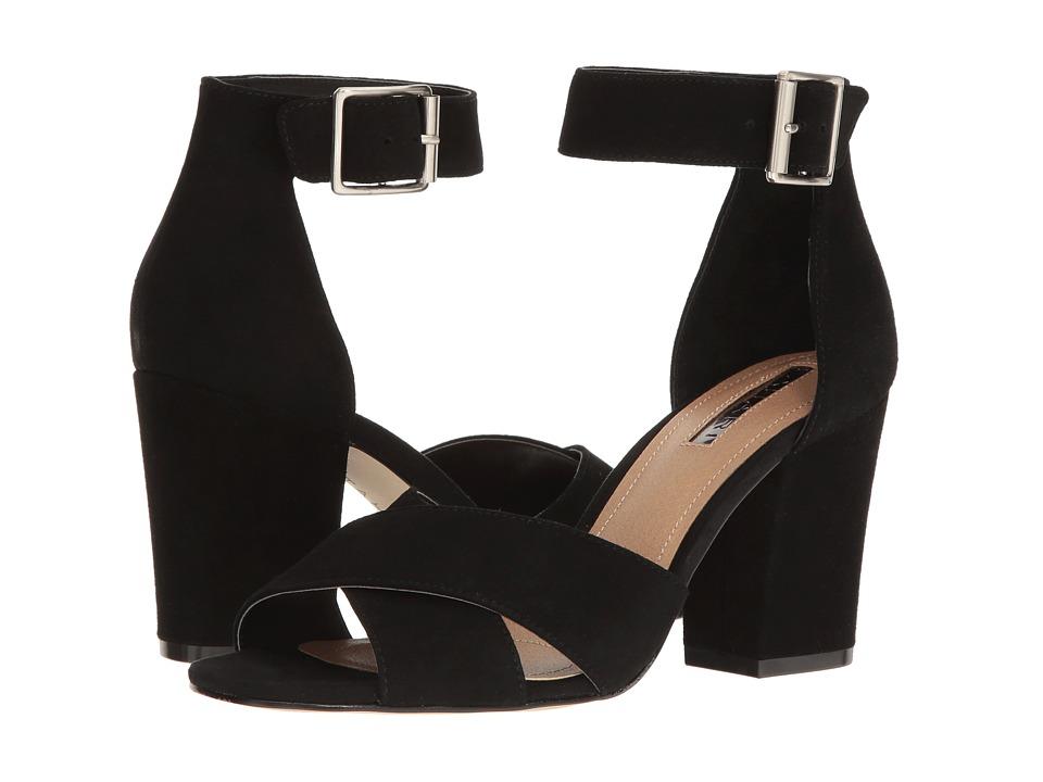Tahari - Ponder (Black Kid Suede) Women's Shoes