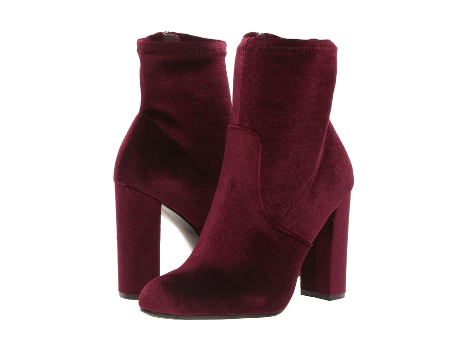 Steve Madden Edit (Burgundy Velvet) Women