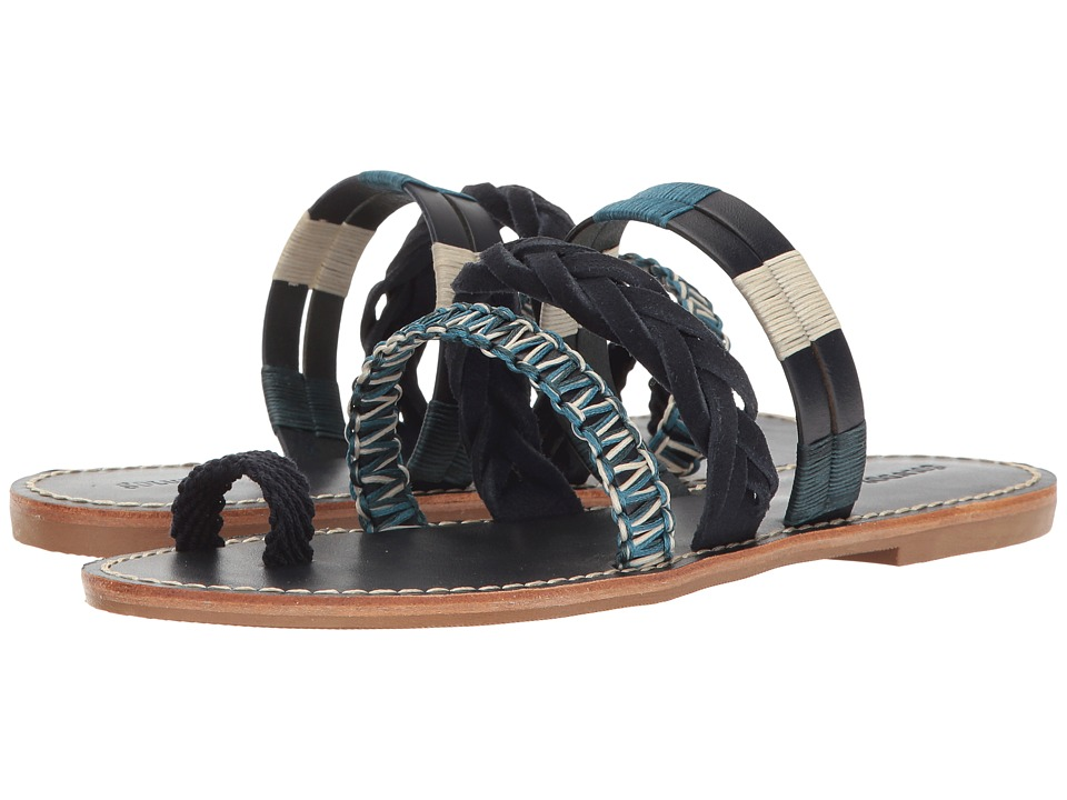 Soludos Multi Band Bracelet Sandal (Midnight Blue) Women
