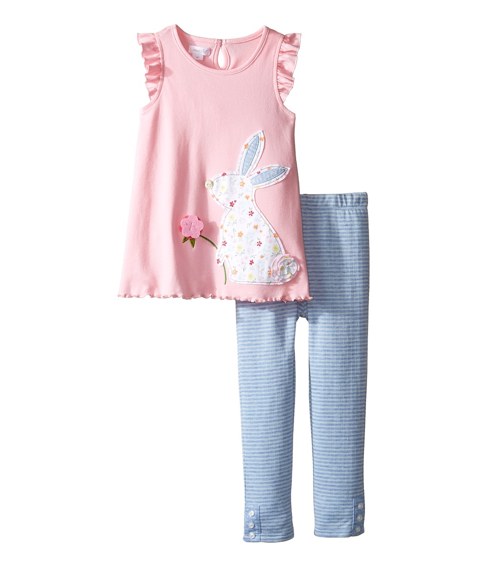 Mud Pie - Bunny Tunic and Leggings Set (Infant/Toddler) (Pink) Girl's Suits Sets