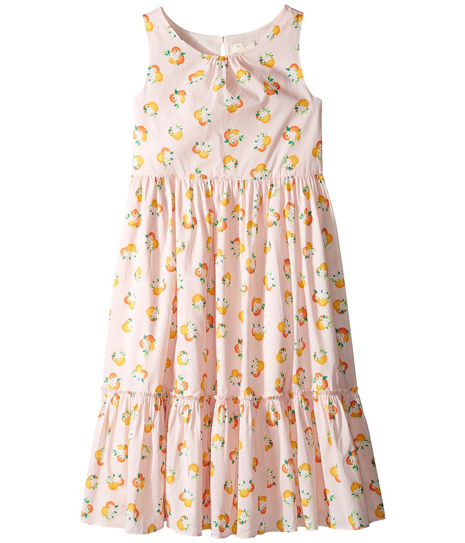 Kate Spade New York Kids - Orangerie Midi Dress (Little Kids/Big Kids) (Orangerie) Girl's Dress