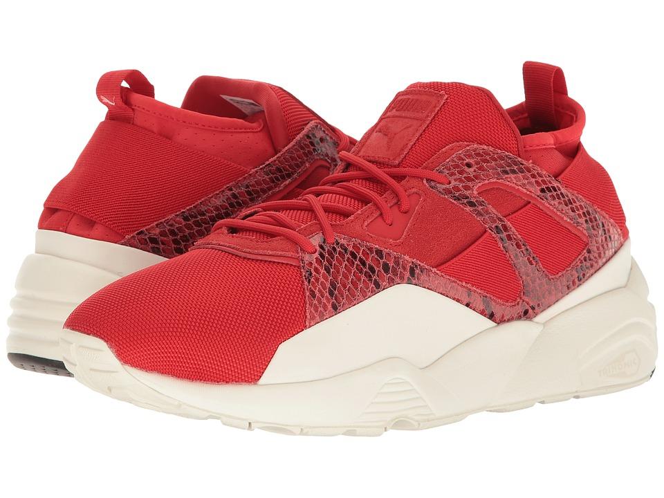 PUMA - B.O.G Sock Snake (High Risk Red/Puma White) Men's Shoes