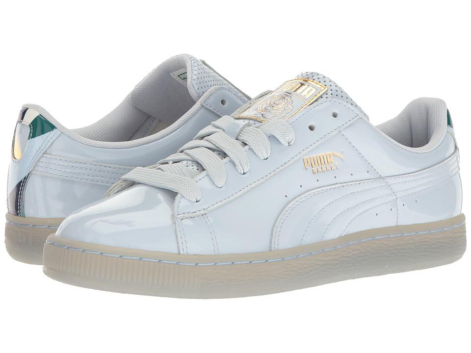PUMA - Puma X Careaux Basket (Halogen Blue) Athletic Shoes