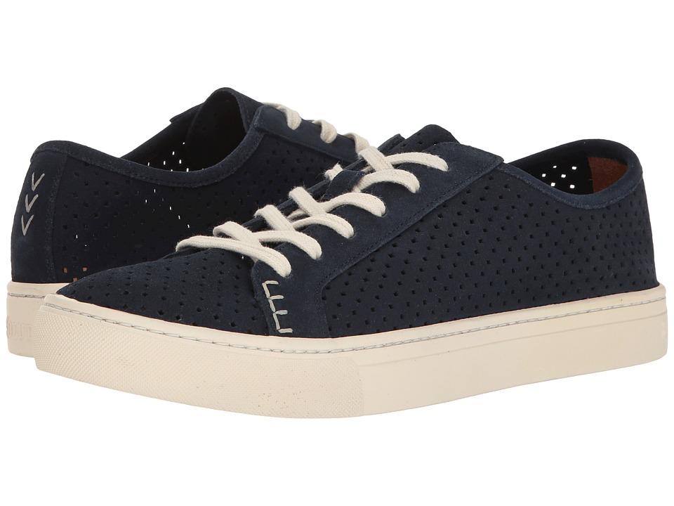 Soludos - Perforated Tennis Sneaker (Midnight) Men's Shoes