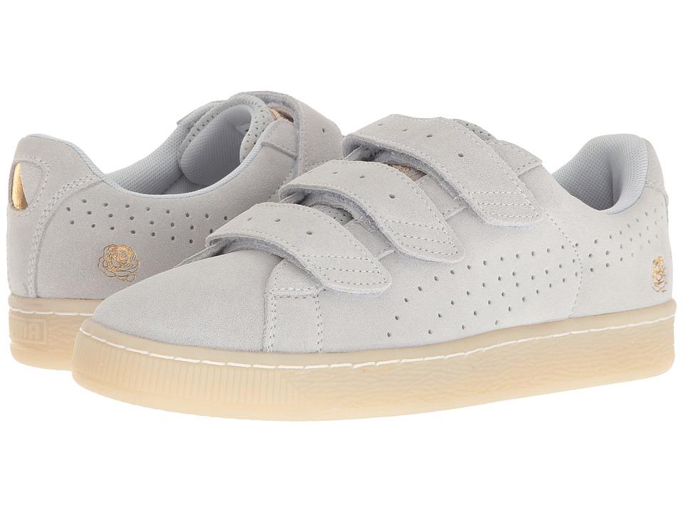 PUMA - Puma X Careaux Basket Strap (Halogen Blue) Men's Shoes