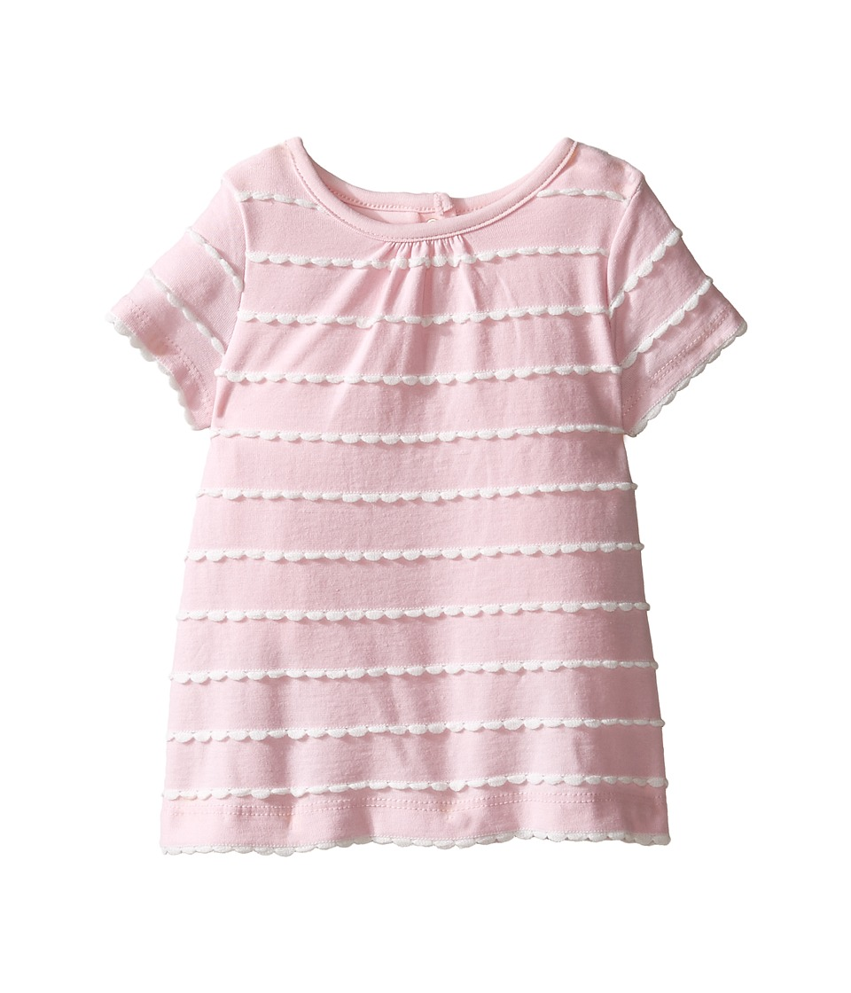 Kate Spade New York Kids - Scallop Skirted One-Piece (Infant) (Cherry Blossom) Girl's Jumpsuit & Rompers One Piece
