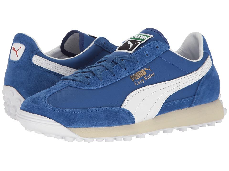 PUMA - Easy Rider VTG (Surf the Web/Puma White/Puma White) Men's Shoes
