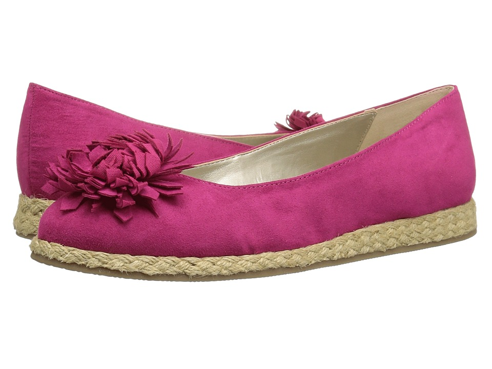 Bandolino Blondelle (Hot Pink Faux Suede) Women