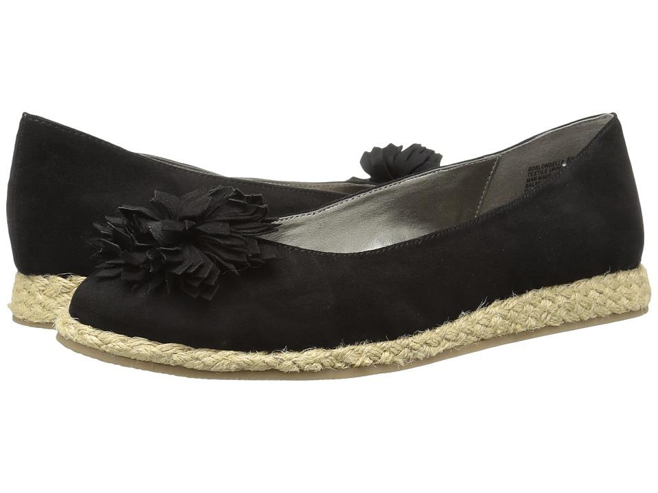 Bandolino - Blondelle (Black Faux Suede) Women's Shoes
