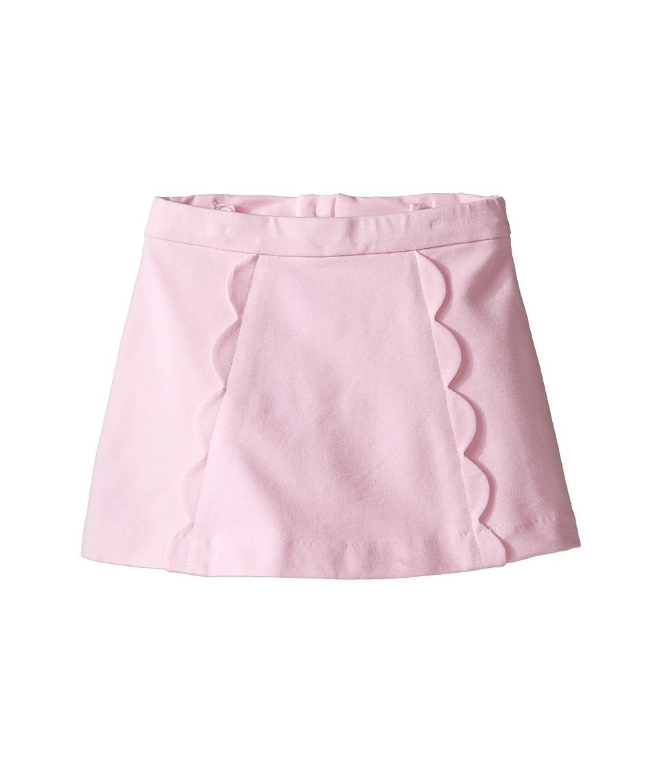 Kate Spade New York Kids - Scallop Skirt (Toddler/Little Kids) (Cherry Blossom) Girl's Skirt