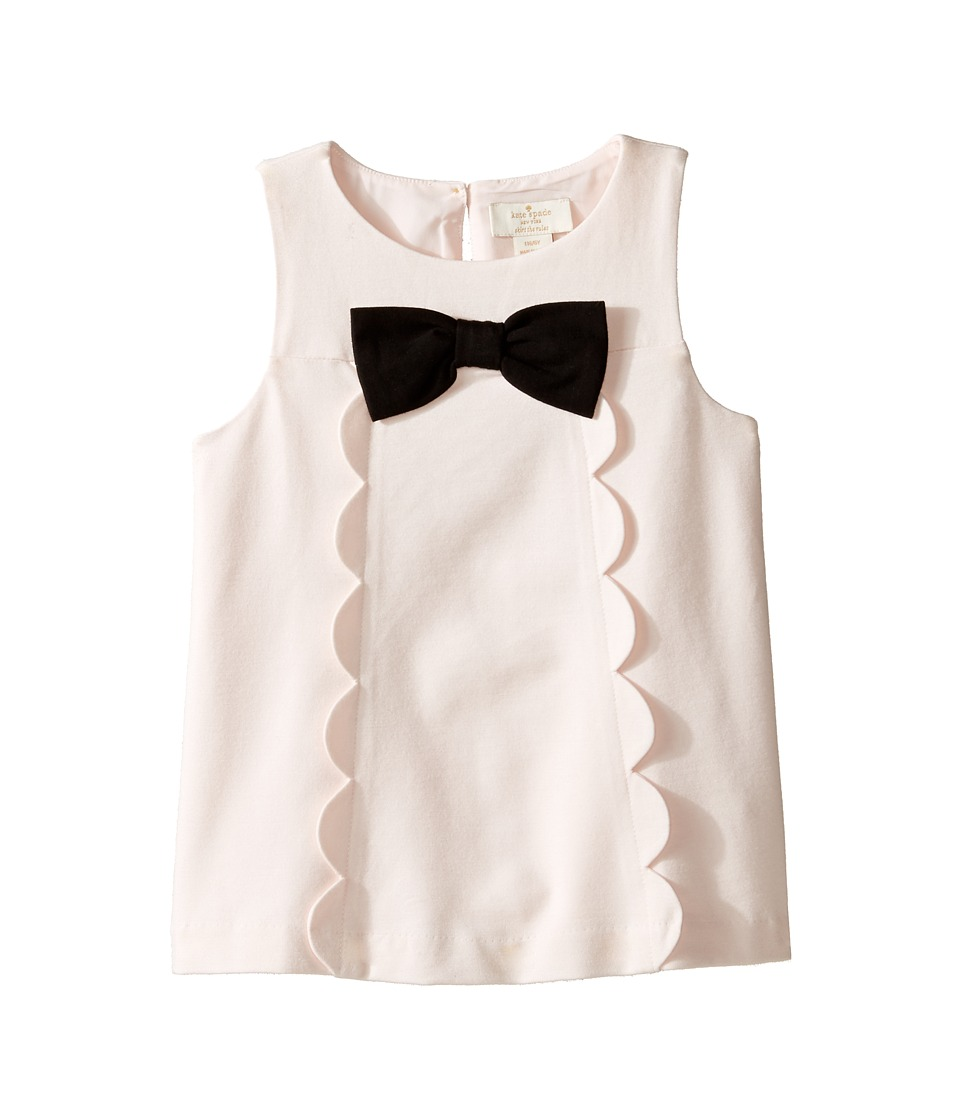 Kate Spade New York Kids - Scallop Top (Toddler/Little Kids) (Palest Rose) Girl's Clothing