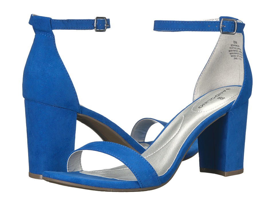 Bandolino - Armory (Azure Faux Suede) Women's Sandals