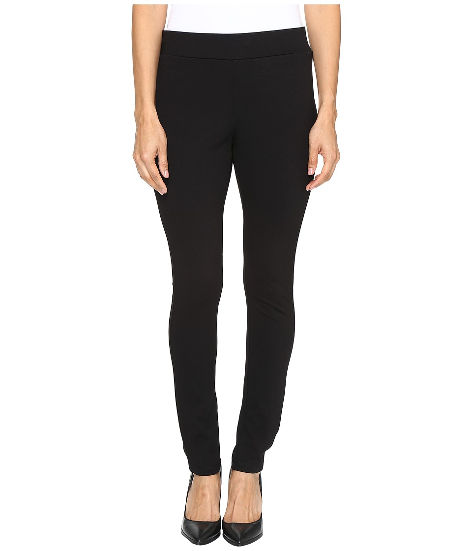 NYDJ Petite - Petite Basic Pull-On Leggings in Black (Black) Women's Jeans