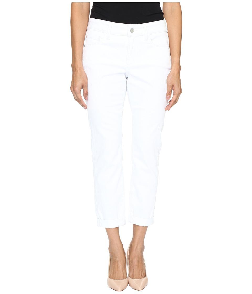 NYDJ Petite Petite Alina Convertible Ankle in Optic White (Optic White) Women