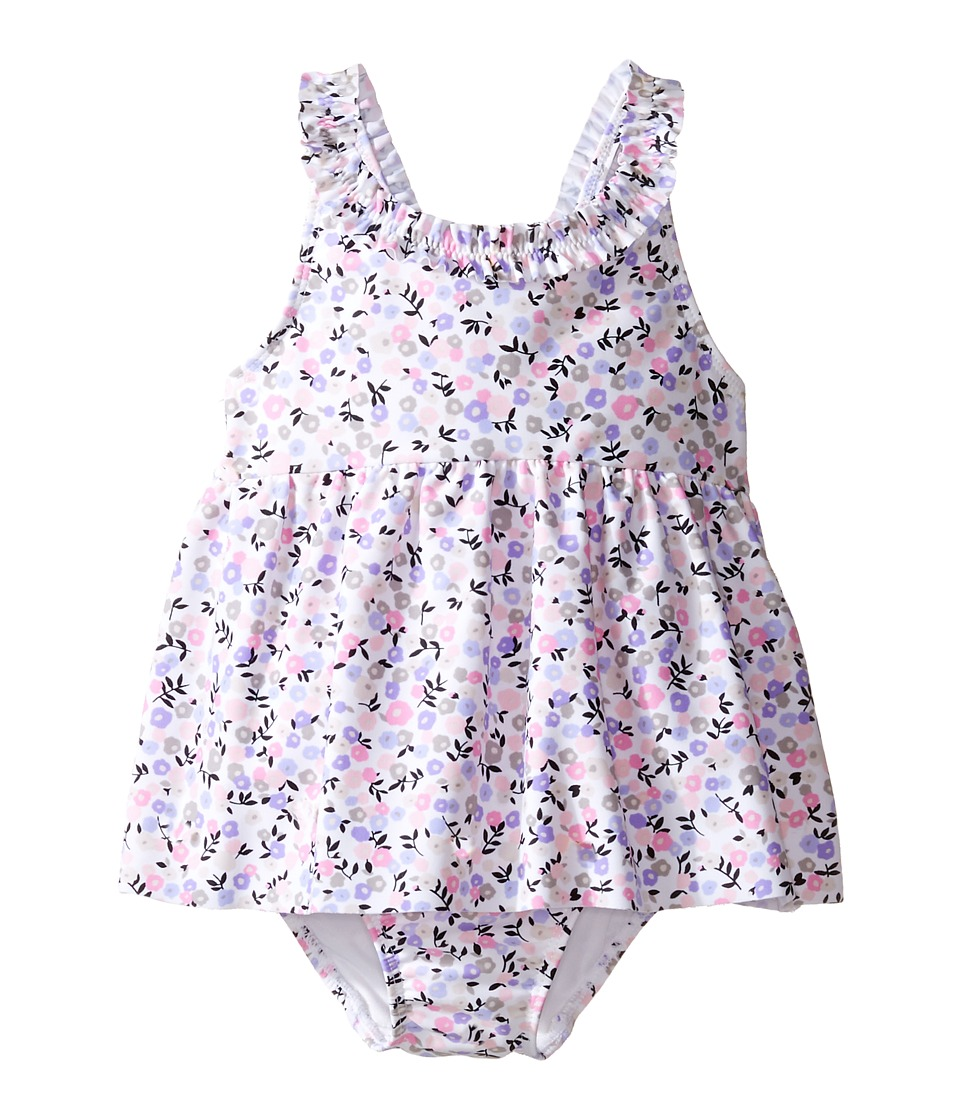Kate Spade New York Kids - Ruffle Trim One-Piece (Infant) (Mini Floral) Girl's Swimsuits One Piece