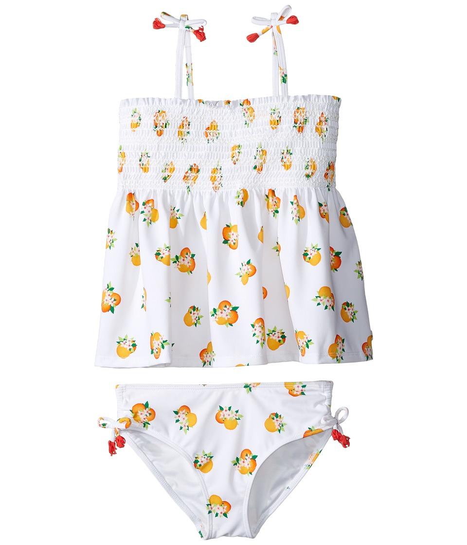 Kate Spade New York Kids - Two-Piece Swimsuit (Big Kids) (Orangerie) Girl's Swimwear Sets