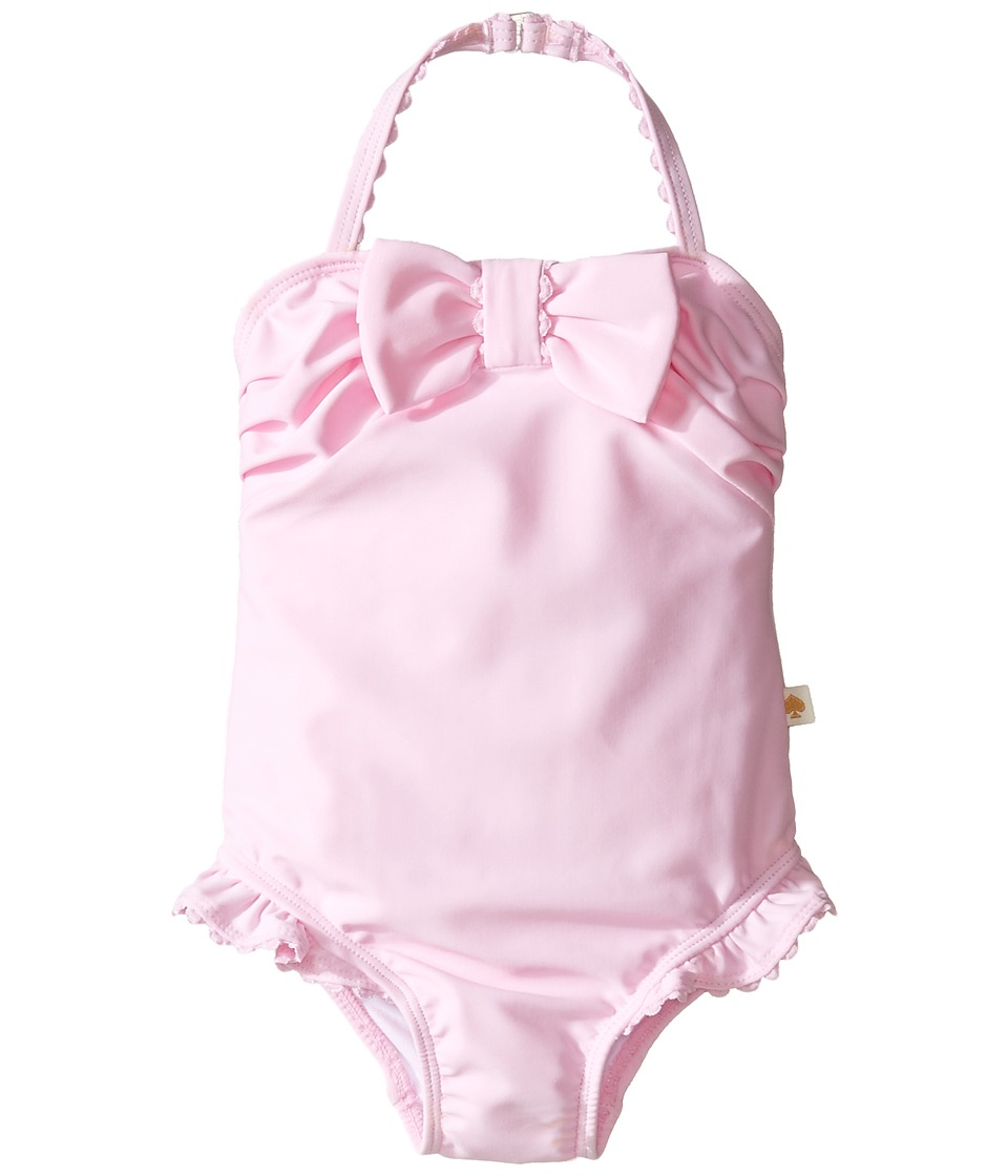 Kate Spade New York Kids - Jillian Bow One-Piece (Infant) (Cherry Blossom) Girl's Swimsuits One Piece