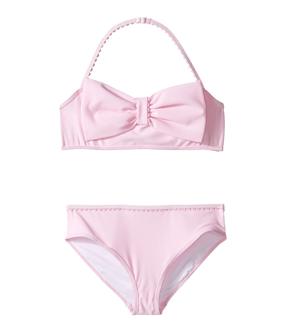 Kate Spade New York Kids - Bow Two-Piece (Big Kids) (Cherry Blossom) Girl's Swimwear Sets