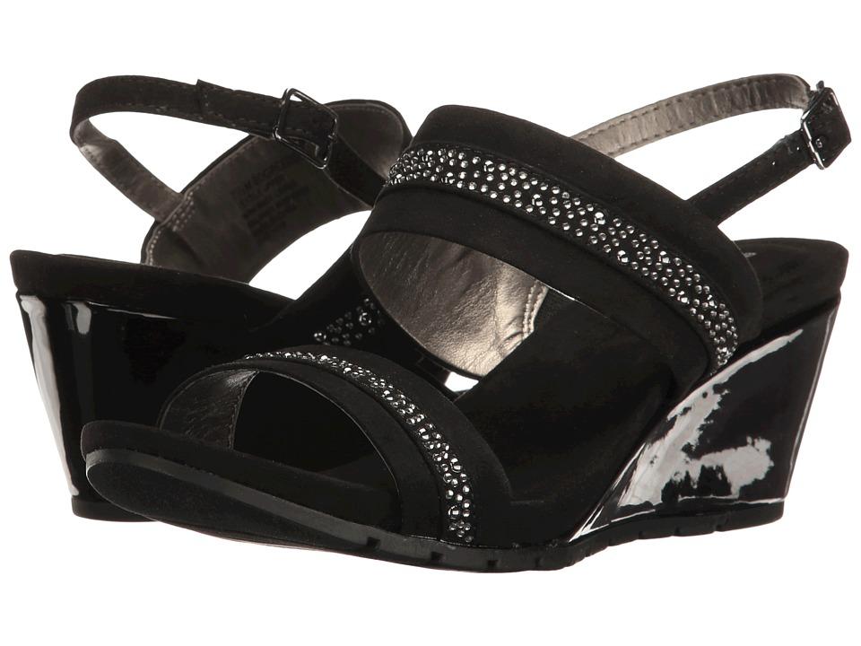 Bandolino - Greedson (Black Faux Suede) Women's Shoes