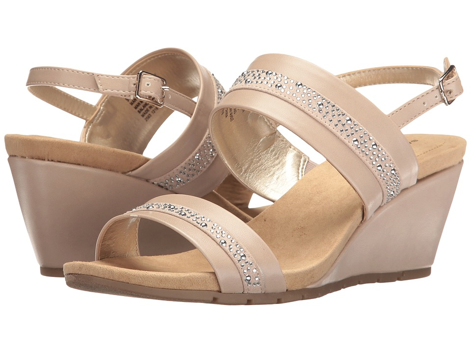 Bandolino Greedson (Oat Super Nappa Synthetic/Faux Suede) Women