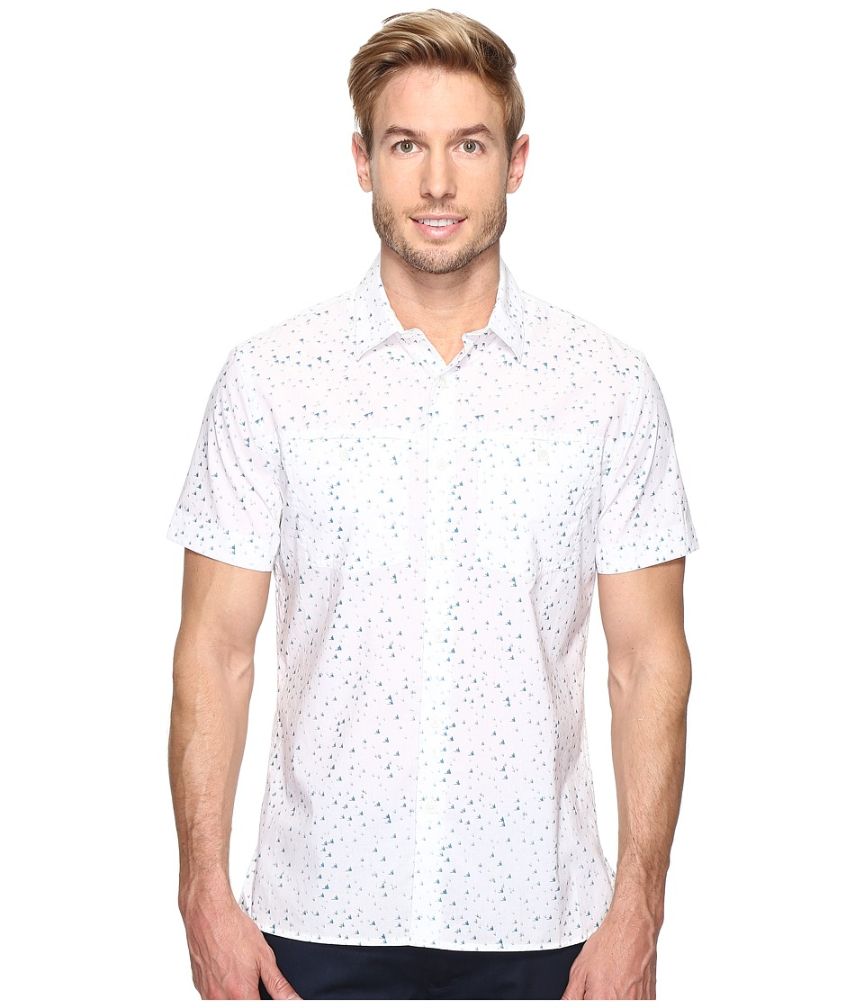 Perry Ellis - Flying Arrow Shirt (Bright White) Men's Clothing