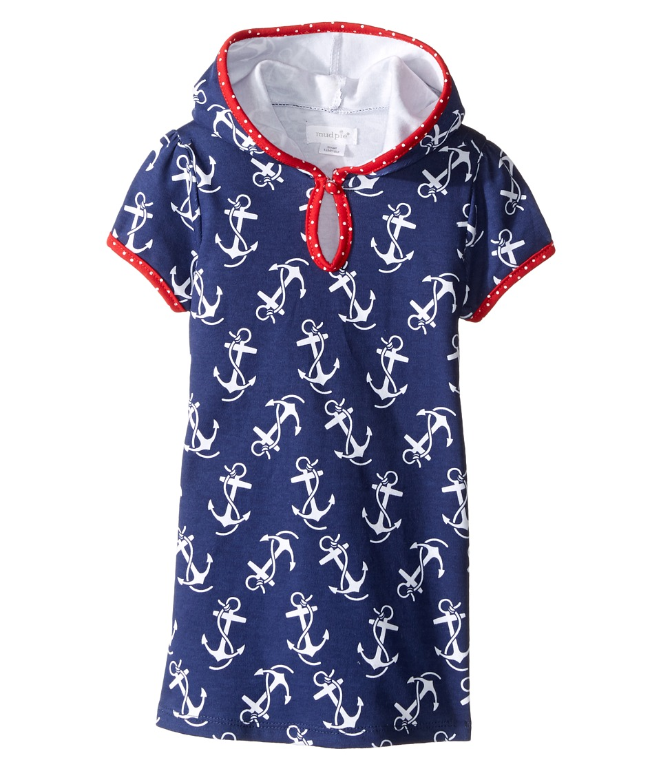 Mud Pie - Anchor Cover-Up (Infant/Toddler) (Blue) Girl's Clothing