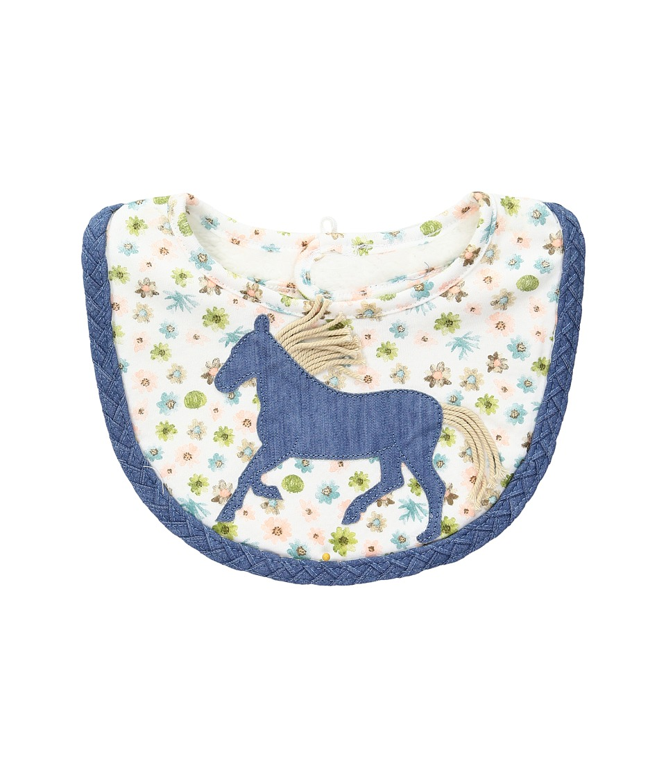 Mud Pie - Horse Bib (Blue) Accessories Travel