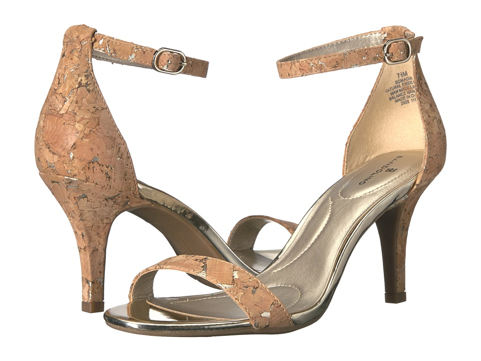 Bandolino Madia (Cork Metallic Metallic Cork) High Heels
