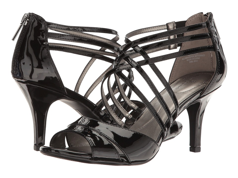Bandolino Marlisa (Black Super Soft Patent Synthetic) Women