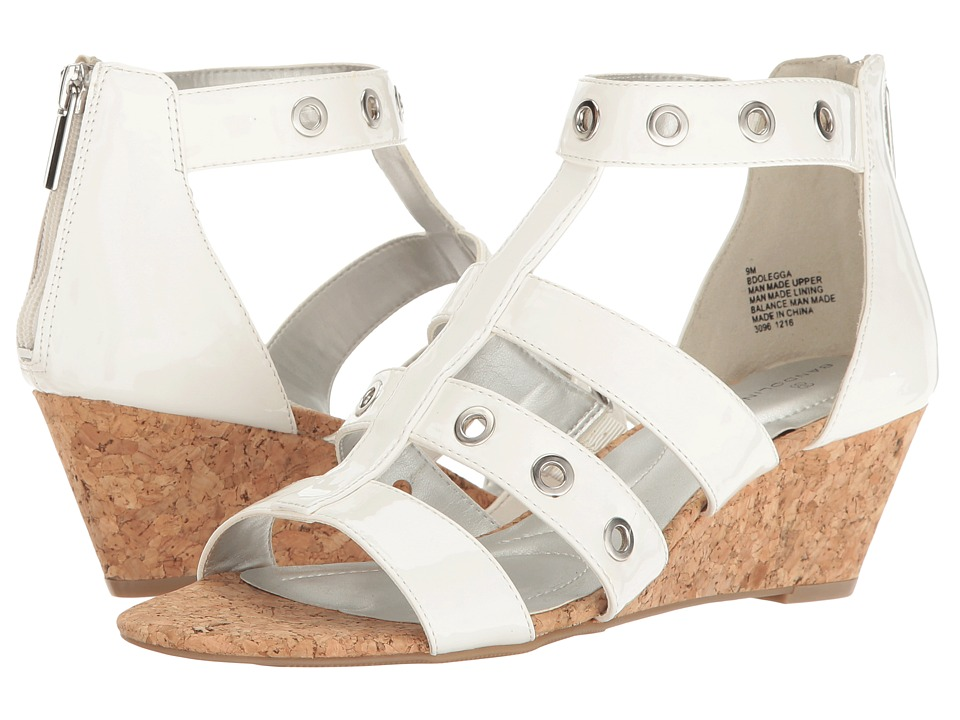 Bandolino - Olegga (White Patent Super Soft Patent Synthetic) Women's Shoes