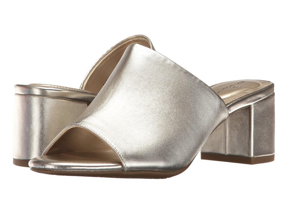 Bandolino - Spars (Platino Metallic Nappa Synthetic) Women's Shoes