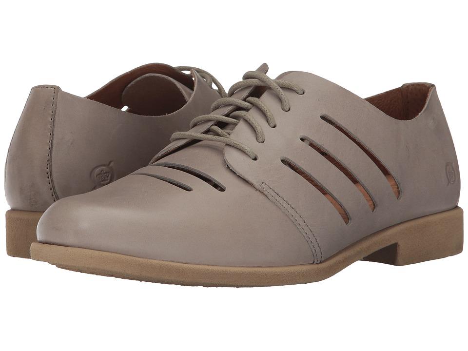Born - Jakob (Light Grey Full Grain Leather) Women's Shoes