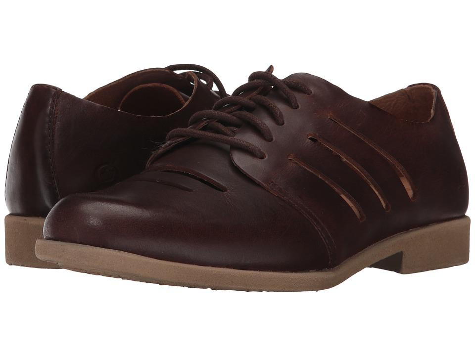 Born - Jakob (Brown Full Grain Leather) Women's Shoes