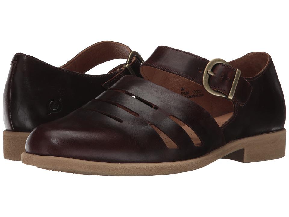 Born - Jane (Brown Full Grain Leather) Women's Shoes