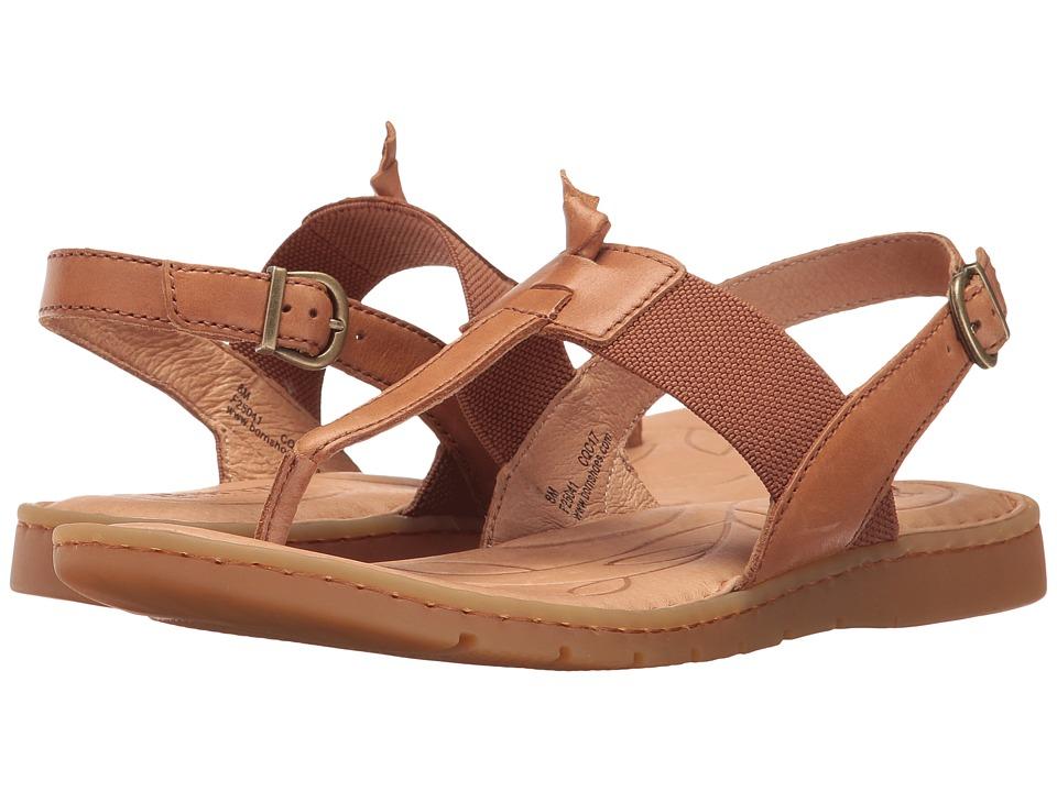 Born - Siri (Light Brown Full Grain Leather) Women's Shoes