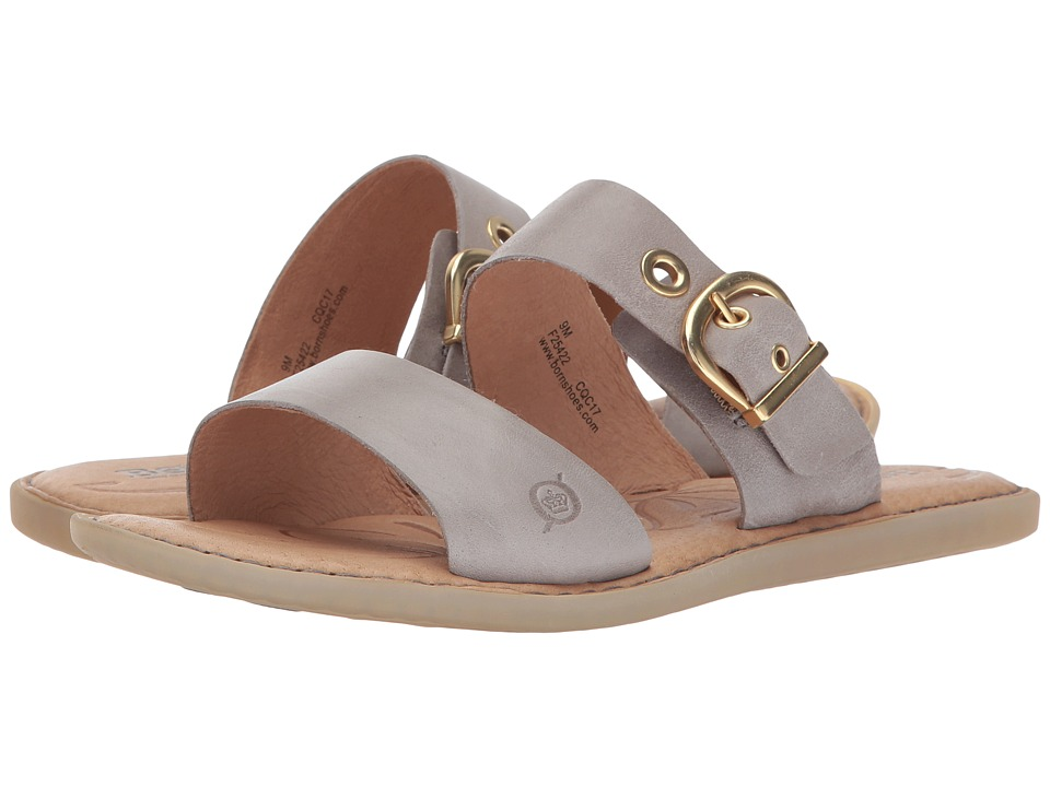 Born - Ralf (Grey Full Grain Leather) Women's Shoes