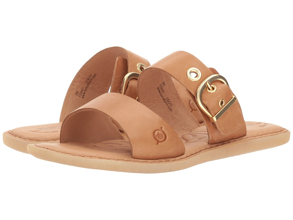 Born - Ralf (Light Brown Full Grain Leather) Women's Shoes