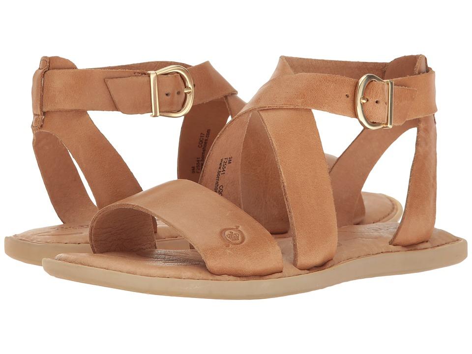 Born - Niel (Light Brown Full Grain Leather) Women's Shoes
