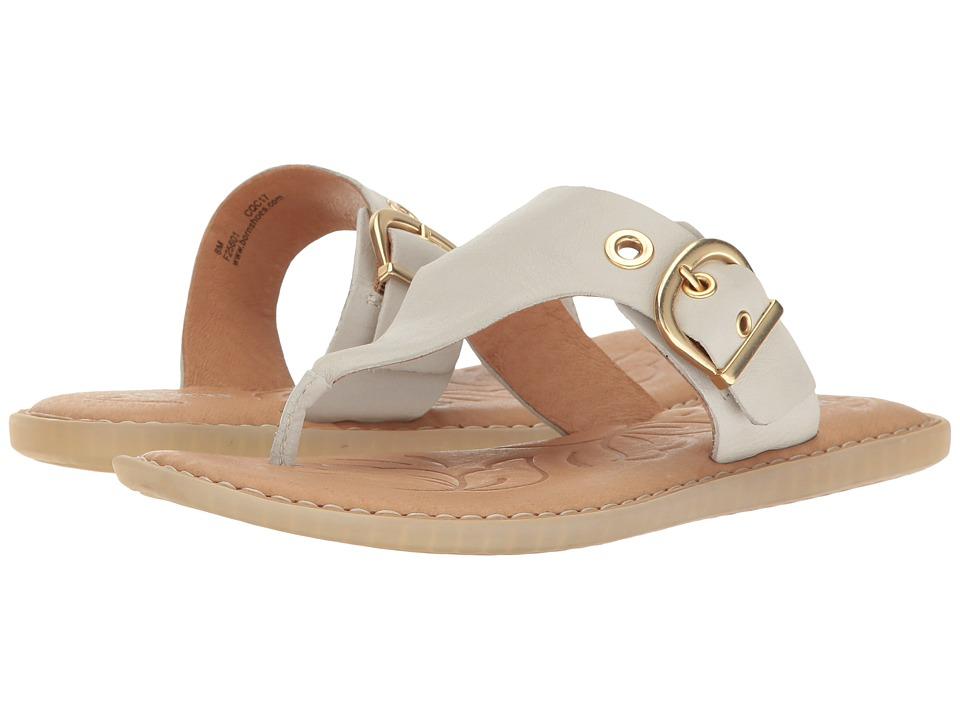 Born - Orla (White Full Grain Leather) Women's Shoes