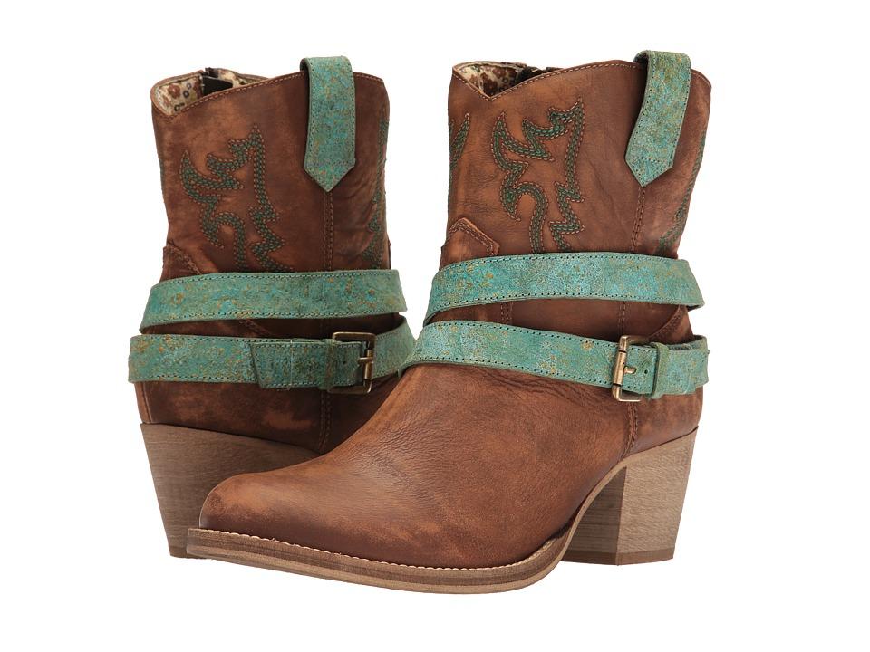 Dingo - Ashlyn (Tan) Cowboy Boots