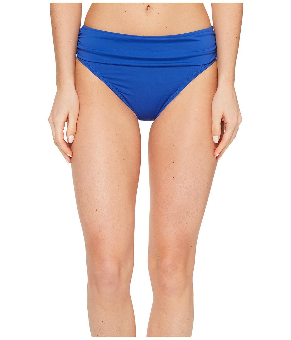 Tommy Bahama Pearl High-Waist Hipster Bikini Bottom (Old Royal) Women