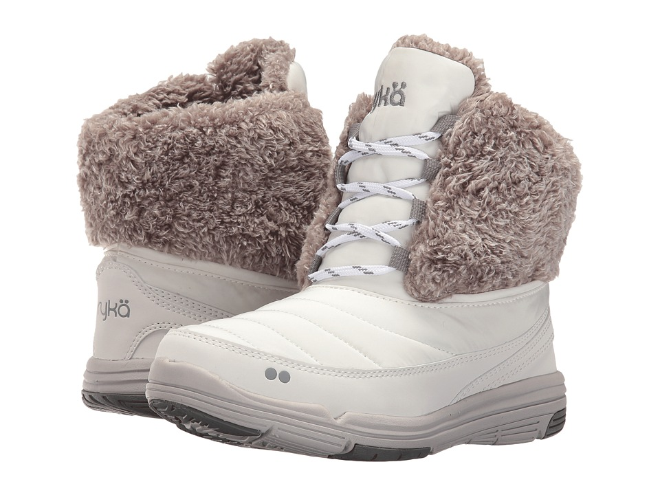 Ryka - Addison (White/Grey) Women's Boots