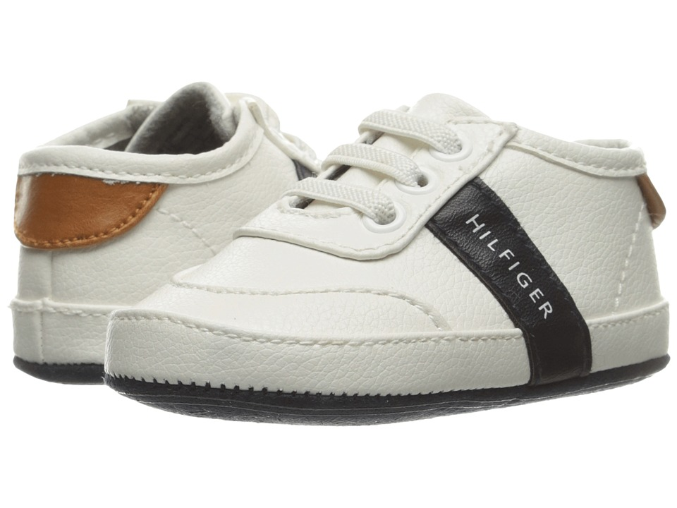 Tommy Hilfiger Kids - Baby Dennis (Infant/Toddler) (White) Boy's Shoes