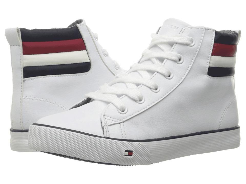 Tommy Hilfiger Kids - Dennis Mill (Little Kid/Big Kid) (White) Boy's Shoes