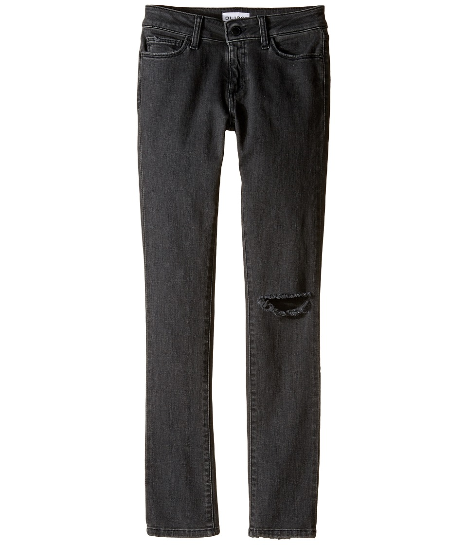 DL1961 Kids - Chloe Distressed Skinny Jeans in Busted (Big Kids) (Busted) Girl's Jeans