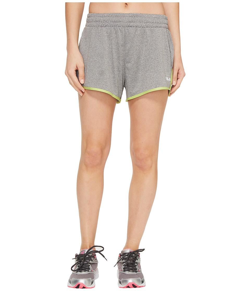 Fila Easy On Shorts (Varsity Heather/Sharp Green Heather) Women