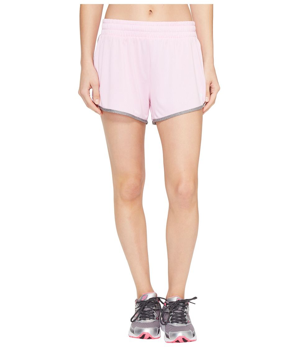 Fila Easy On Shorts (Ballet Pink Heather/Varsity Heather) Women