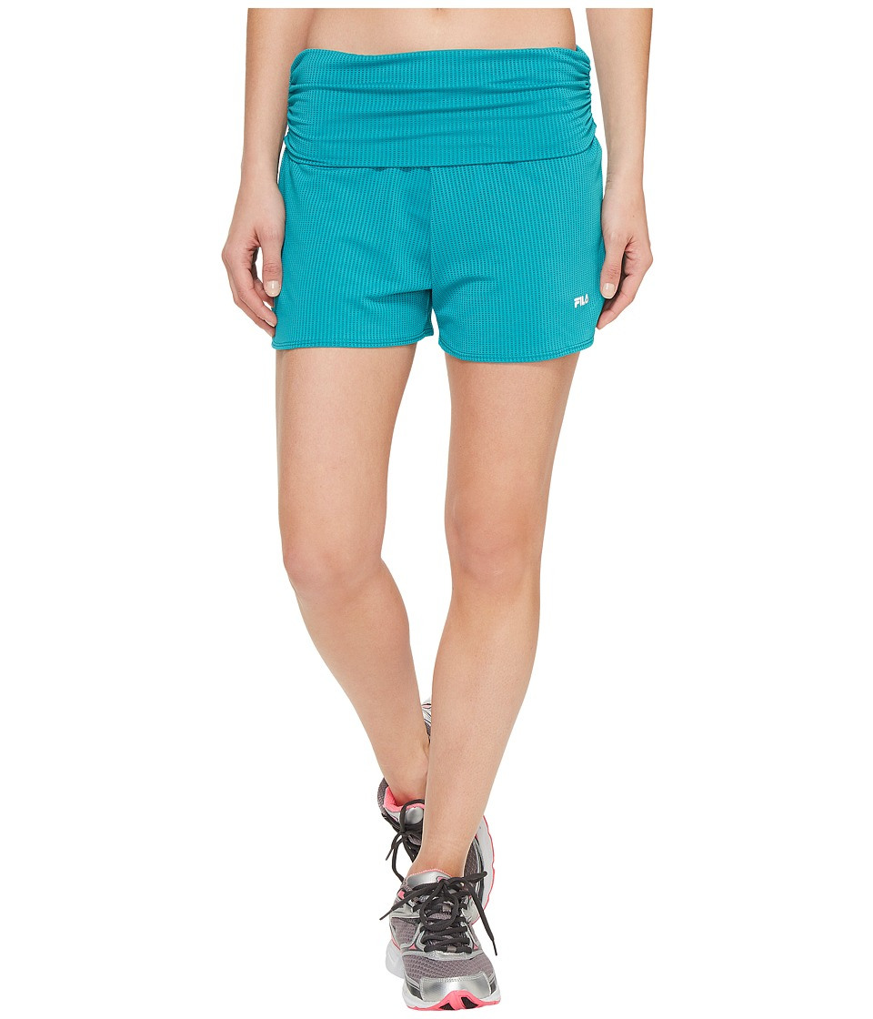 Fila - Infinity Shorts (Viridian Green) Women's Shorts