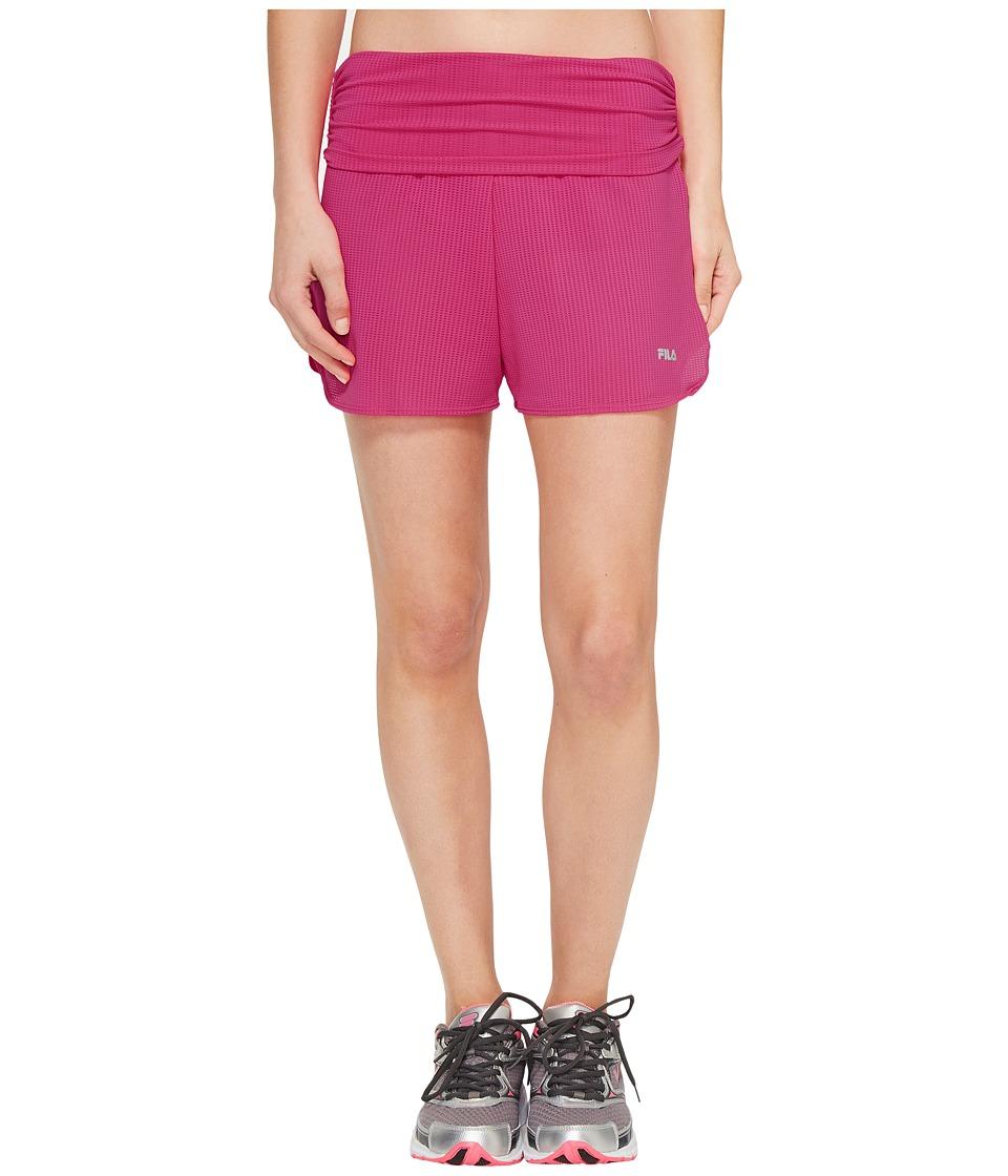 Fila - Infinity Shorts (Pink Glo) Women's Shorts
